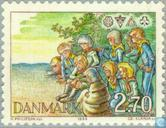 Postage Stamps - Denmark - Scouting
