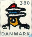 Postage Stamps - Denmark - Contemporary art