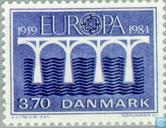 Postage Stamps - Denmark - Europe – Bridge