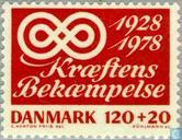 Postage Stamps - Denmark - Cancer berstrij Thing