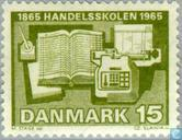 Postage Stamps - Denmark - Centenary of the first mercantile college in Denmark