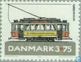 Postzegels - Denemarken - Trams