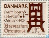 Timbres-poste - Danemark - Typographie
