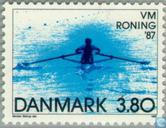 Postage Stamps - Denmark - World Rowing Championships