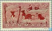 Postage Stamps - Denmark - Shipping