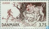 Postage Stamps - Denmark - Europe – Tales and legends