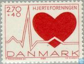 Postage Stamps - Denmark - Heart Foundation