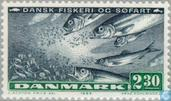Postage Stamps - Denmark - Fisheries and shipping