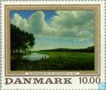 Postage Stamps - Denmark - Paintings