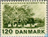 Postage Stamps - Denmark - European Monuments Year
