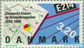 Postage Stamps - Denmark - Fisheries and marine research