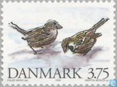 Postage Stamps - Denmark - Native animals