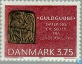 Postage Stamps - Denmark - Archaeological finds