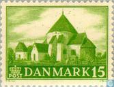 Postage Stamps - Denmark - Churches
