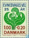 Postage Stamps - Denmark - Vereninging Mentally Handicapped