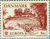 Timbres-poste - Danemark - Europe – Paysages