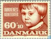 Postzegels - Denemarken - Nationale kinderhulp