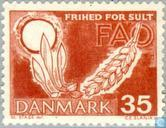 Postage Stamps - Denmark - Fight against hunger