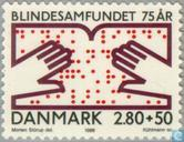 Postage Stamps - Denmark - Blind bond