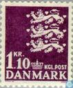 Postage Stamps - Denmark - Coat of Arms