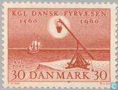 Postage Stamps - Denmark - Fire Beacons