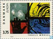 Timbres-poste - Danemark - Europe – Art contemporain
