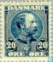 Postage Stamps - Denmark - King Christian IX