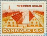 Postage Stamps - Denmark - District Of Nyborg