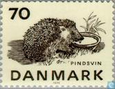 Postage Stamps - Denmark - Endangered species