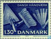 Postage Stamps - Denmark - Handicraft