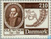 Postage Stamps - Denmark - Ole Worm