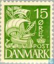 Timbres-poste - Danemark - Voilier