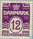 Postage Stamps - Denmark - sales and waves