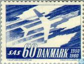 Postage Stamps - Denmark - S.A.S.