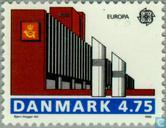 Timbres-poste - Danemark - Europe – Bâtiments postaux