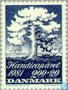 Postage Stamps - Denmark - Int. year of people with disabilities