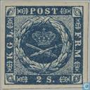 Postage Stamps - Denmark - Horn with points