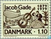 Postzegels - Denemarken - Jacob Gade
