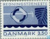 Postage Stamps - Denmark - Rescue Services