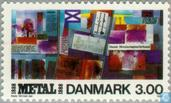 Postage Stamps - Denmark - Union metal industry