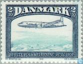 Postage Stamps - Denmark - Aviation