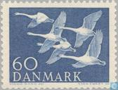 Postage Stamps - Denmark - Norden-Swans
