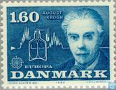 Postage Stamps - Denmark - Europe – Famous People
