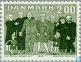 Postage Stamps - Denmark - Year of older persons