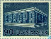 Postage Stamps - Denmark - Europe – Temple