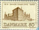 Postage Stamps - Denmark - Organization Danes abroad