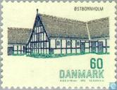 Timbres-poste - Danemark - Monuments