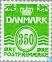 Postage Stamps - Denmark - Digit ' wave type '