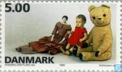 Postage Stamps - Denmark - Toys
