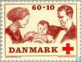 Postage Stamps - Denmark - Red Cross